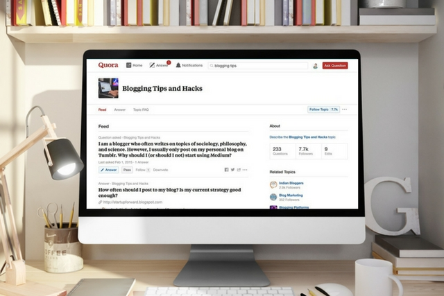 Should you be using Quora to promote your blog and your writing?