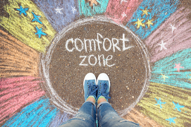 8 Ways to Kick Out of Your Creative Comfort Zone