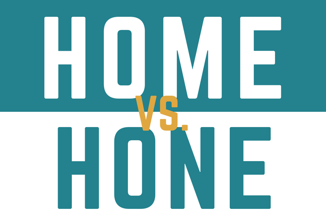 Which Should You Use: Home or Hone?
