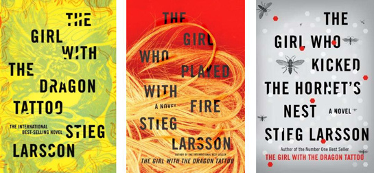Steig Larsson covers